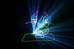 Laser Graphic Show, Area : Bengaluru