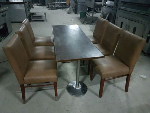used restaurant chairs tables system enterprises new delhi id