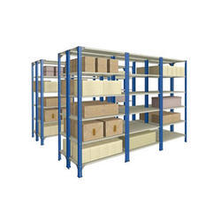 Stainless Steel Slotted Angle Rack, for Office