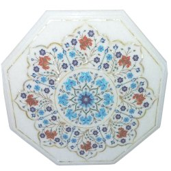 Home Decor Marble Inlay Art Table Top