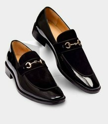 Men Polymer Mens Italian Leather Loafers