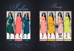 Rayon Kurti With Lycra Leggings