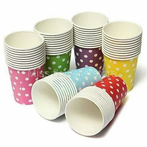 Disposable Paper Glasses, Use: Event and Party Supplies