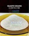 Quartz Grains Snow white