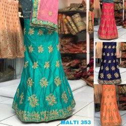Dark Color Lehenga Choli