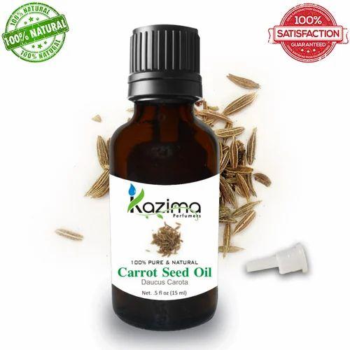 Kazima Carrot Seed Essential Oil 100% Pure Natural