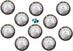 Aerosense Model ASG -06 Differential Pressure Gauges Ranges 0-6.0 WC