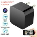 Wifi Black Charger Spy Camera, For Security