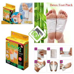 Kinoki Gold Cleansing Detox Foot Pad Patches