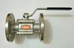 Three Piece SS Flanged Ball Valve