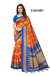Cotton Silk Sarees With Tessals