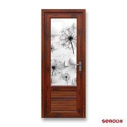 Designer Glass Main Door