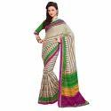 Rcpc Designer Alluring Bhagalpuri Beige Saree