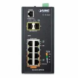 IGS-4215-4P4T2S Industrial Managed Switch