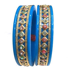 Maniar Bangles Party Wear Acrylic or Plastic Bangles