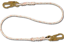 Shock Absorbing Rope Lanyards