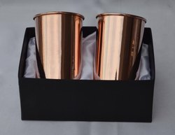 Wedding Gift Copper Glass Set