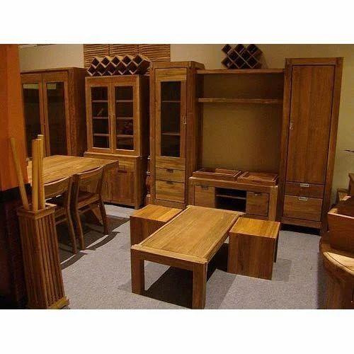 Brown Indian Wood Furniture Rs 12000 Set Kuber Furniture