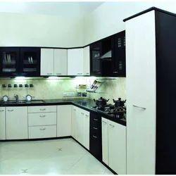 Beau L Shaped Modular Kitchen