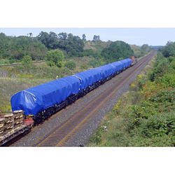 Blue Calcutta Canvas Railway Wagon Cover