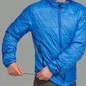Decathlon TREK 100 - Blue Pipe Men Mountain Trekking Padded Jacket