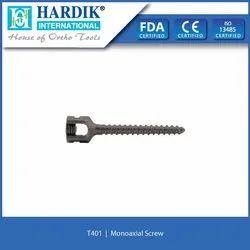 Monoaxial Screw