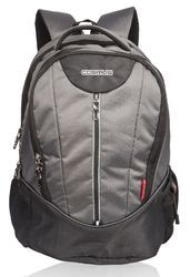 eea140ee7dc2 Polyester Grey Dzire Laptop Backpack Bag