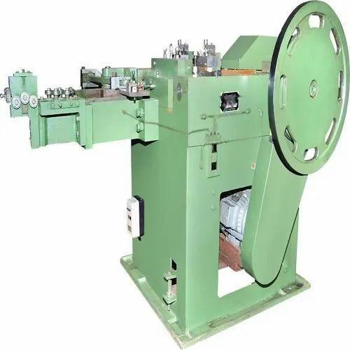 2 Hp To 15 Hp Steel Wire Nail Making Machine