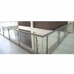 Balcony SS Glass Railing