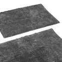Tufted Floor Rug Mat for Bathroom Door Set Of 2
