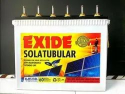 Acid Type Probe Xtreme Solar Tubular Battery, 12 - 24 V Dc