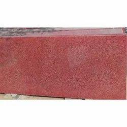 Polished Kharda Red Granite Slab, Thickness: 15-20 mm