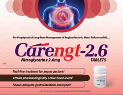 Nitroglycerine 2.6 Mg Tablets