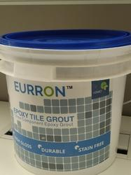 Eurron Epoxy Tile Grout, Packaging Type: Bucket, Packaging size: 1 Kg And 5 Kg
