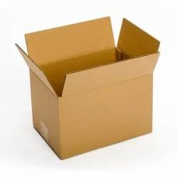 12x10x8 Inch Brown Packaging Corrugated 3 Ply Box