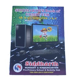 Ravi Pancholi English Computer Book For Senior Kg, Class: 2 To 6