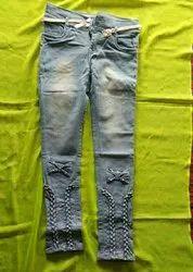 White Plain Cloth, For Jeans
