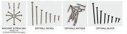 DE Mild Steel Iron Screw, For Furniture, Size: 6.5 To 100
