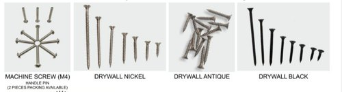 DE Mild Steel Iron Screw, For Furniture, Size: 6.5 To 100