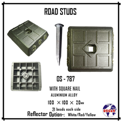 Aluminum Road Stud (21 Beads)