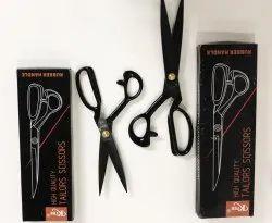 Ktee Black Tailor Scissors Rubber Handle