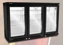 Metal Western Back Bar Refrigerator, Capacity: 349 Ltr., Compact