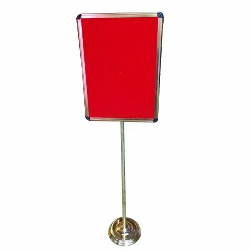 Single Pole Display Board for Office