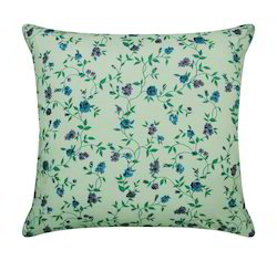 Floral Design Cushion Cover