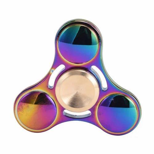 Aluminium Rainbow Fidget Spinner
