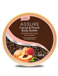 Assure Cocoa And Peach Body Butter
