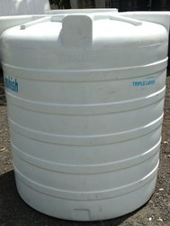 Triple Layer Water Storage Tank ( In White )
