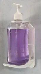 Wall Mounted White Sanitizer Liquid Dispenser