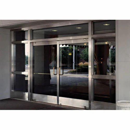 Tempered glass door glass door sathya sai aluminium works tempered glass door planetlyrics Gallery