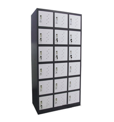 18 Doors Steel Industrial Lockers